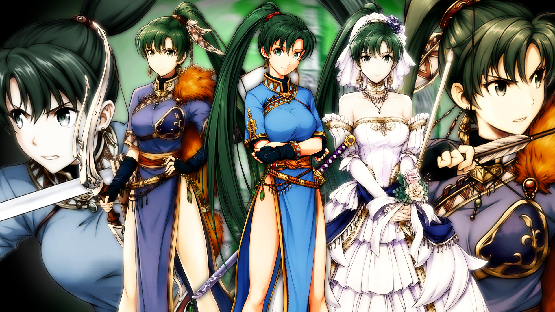 Fire Emblem Heroes Brave Heroes Lyn Wallpaper By Auroramaster On