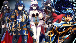 Fire Emblem Heroes - Brave Heroes Lucina Wallpaper