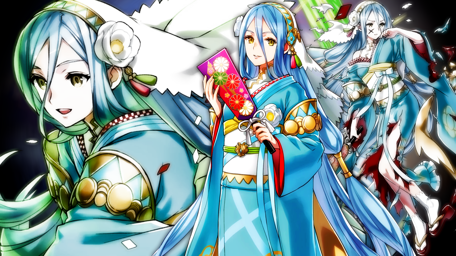 Fire Emblem Heroes New Year Azura Wallpaper By Auroramaster On