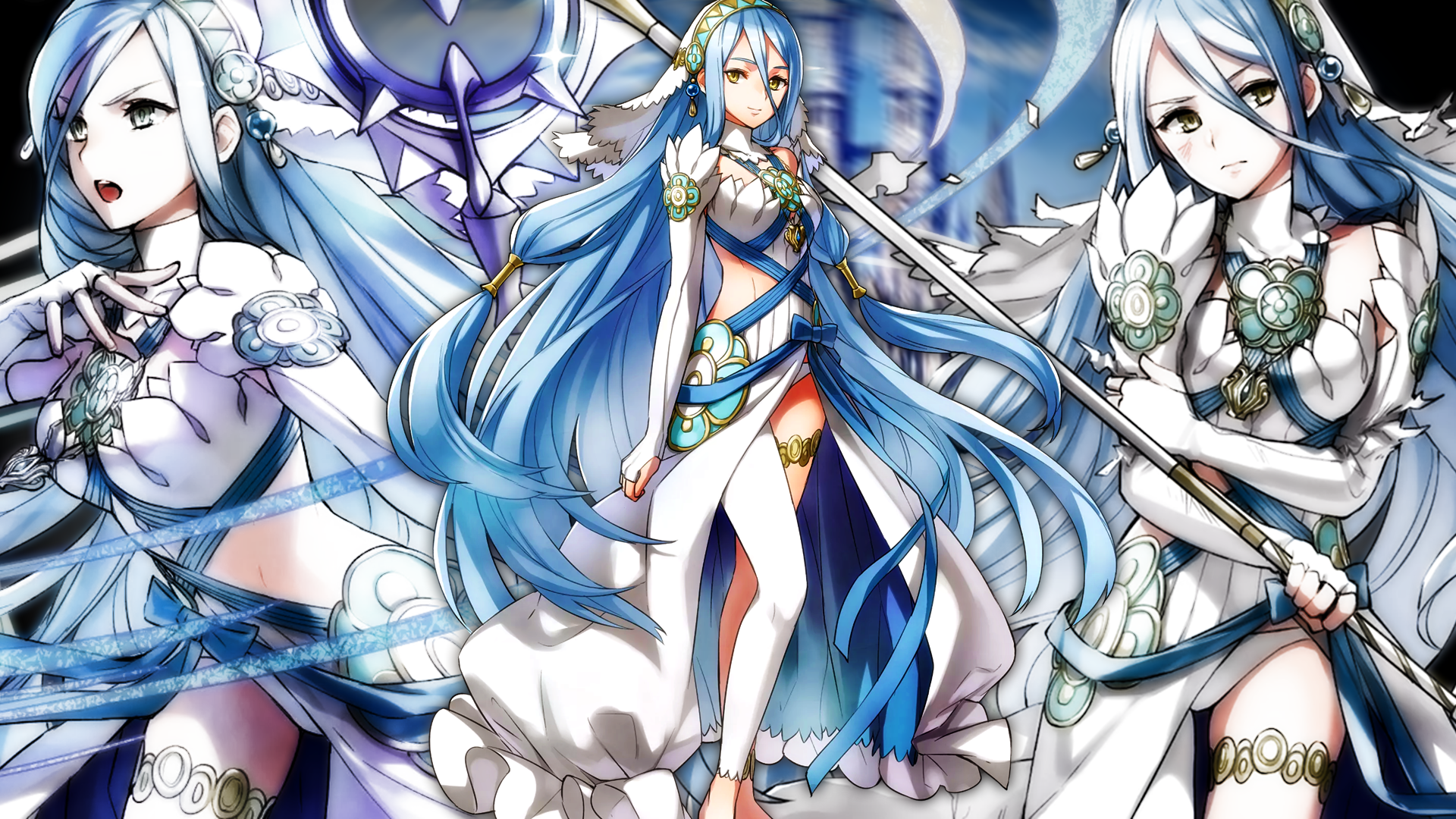 Fire Emblem Heroes Azura Wallpaper By Auroramaster On Deviantart