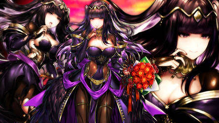 Fire Emblem Heroes - Bridal Tharja Wallpaper by AuroraMaster