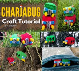 Charjabug Plush Video Tutorial | Free Pattern! by gamerwhit