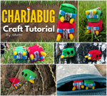 Charjabug Plush Video Tutorial | Free Pattern! by gamerwhit