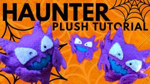 Winking Haunter Plush Tutorial | Free Pattern!