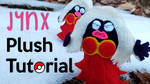 DIY: Jynx Plushie Tutorial | Free Pattern! by gamerwhit