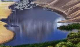 Big river by MrHydrogenius