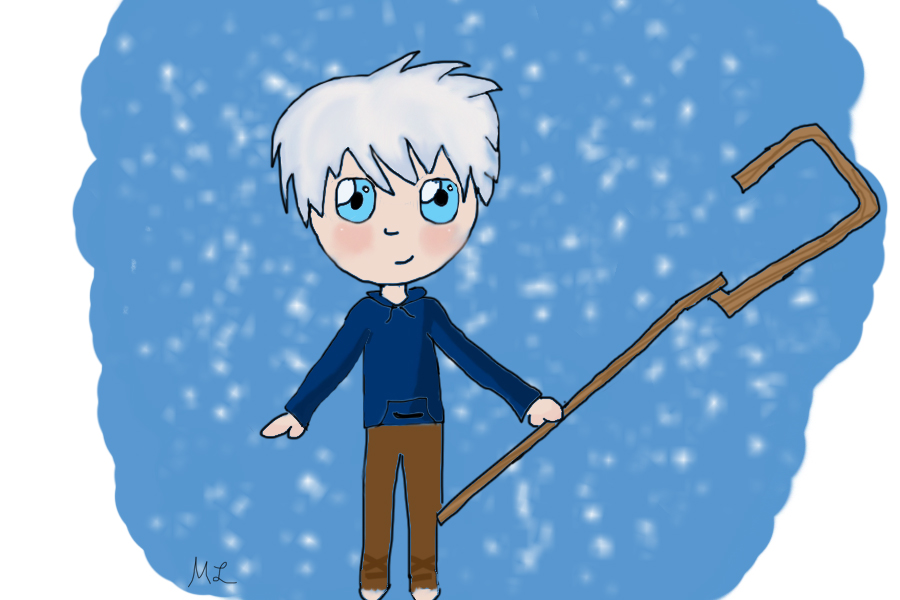Jack Frost Chibi by YoungNightingale