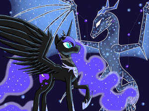 Just a Night Mare and her Selestial