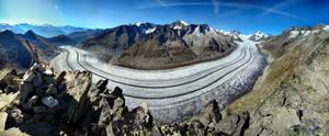 Aletsch Glacier by phxch
