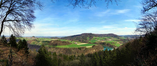 Rhine from Rhinsberg by phxch