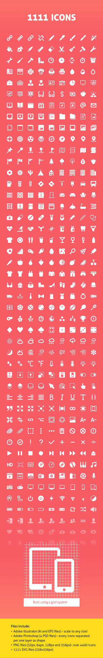 1000+ Vector Icons by mygreed