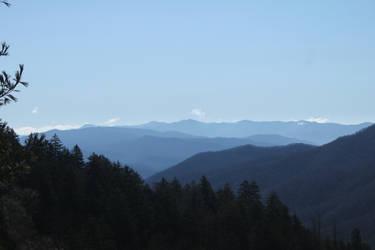 Smoky Mountains IX by fivepi0nt