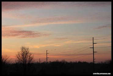 December Morning Sky by fivepi0nt