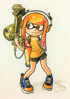 {Comm.} Crabnik's Inkling by AmyRosers