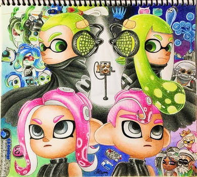 *'Fly Octo Fly'* by AmyRosers