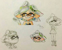 *'Marie doodles'* by AmyRosers