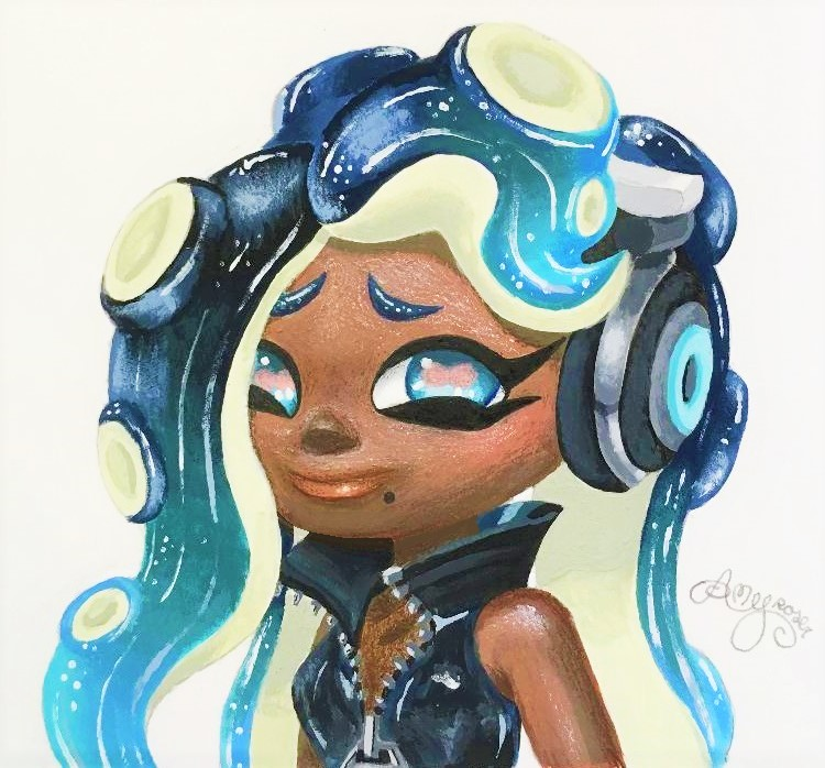 *'Painted Marina'* by AmyRosers