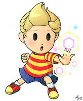 {Smash Collab.} *'Lucas'* by AmyRosers