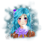 OC: Snow Flowers by MaoMint