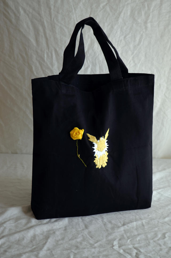 Jolteon Tote Bag FOR SALE by DrisanaRM