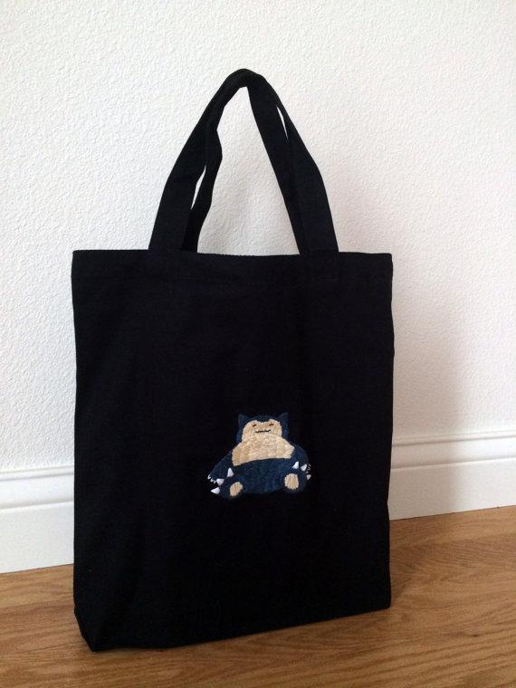 Snorlax Tote Bag by DrisanaRM