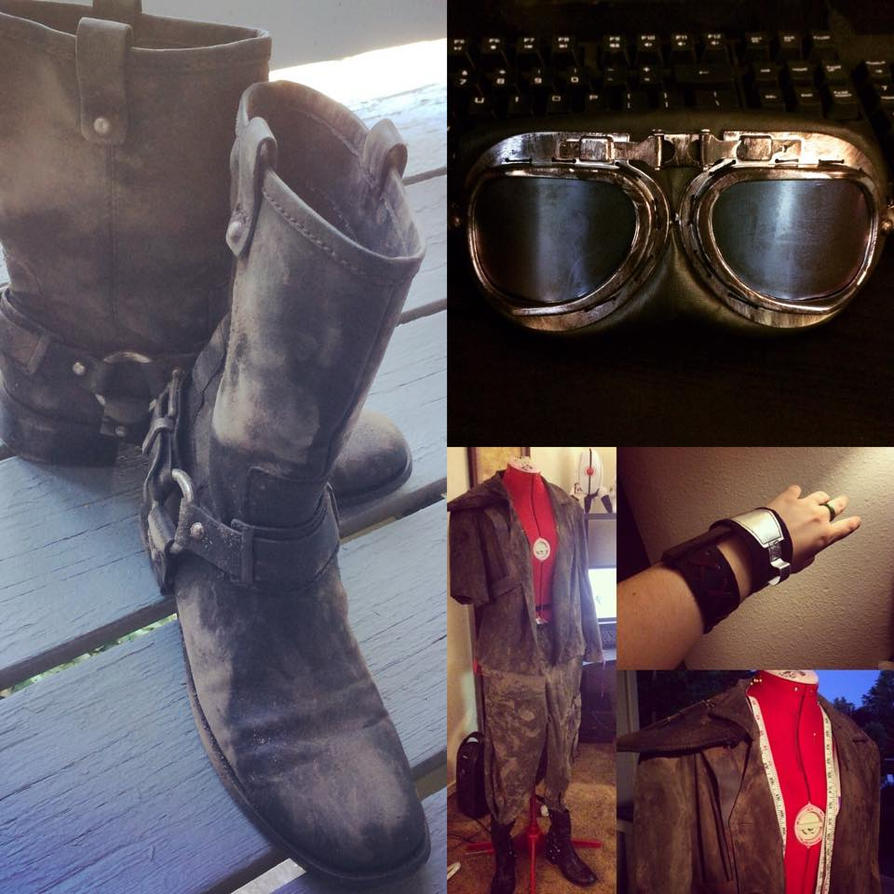 Mad Max Nux Cosplay, W.I.P by DrisanaRM