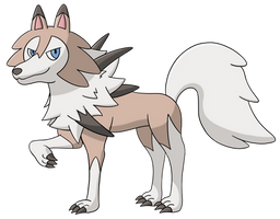 Lycanroc (Midday Form) by AlphaGuilty
