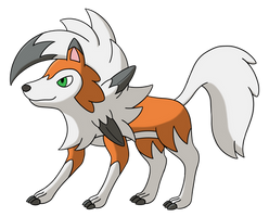 Lycanroc (Dusk Form) v1.0 by AlphaGuilty