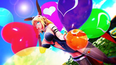 Balloon Vine balloon time *video by imbapovi