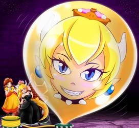 Bowsette Balloon of Doom