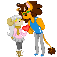 Lamby love by SpaceyJessi