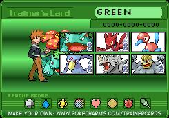 Pokemon Manga- Green TC by Tigereagle