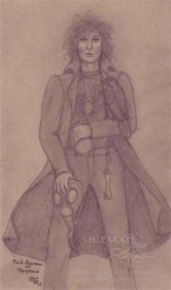 Neil Gaiman as Morpheus by MaryLayton