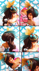 Iron Wig Round Four: The Barbie Challenge by Korinchan