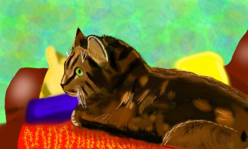 My other cat by Sakuraus