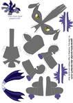 Luna's Royal Guard for PaperCraft 1