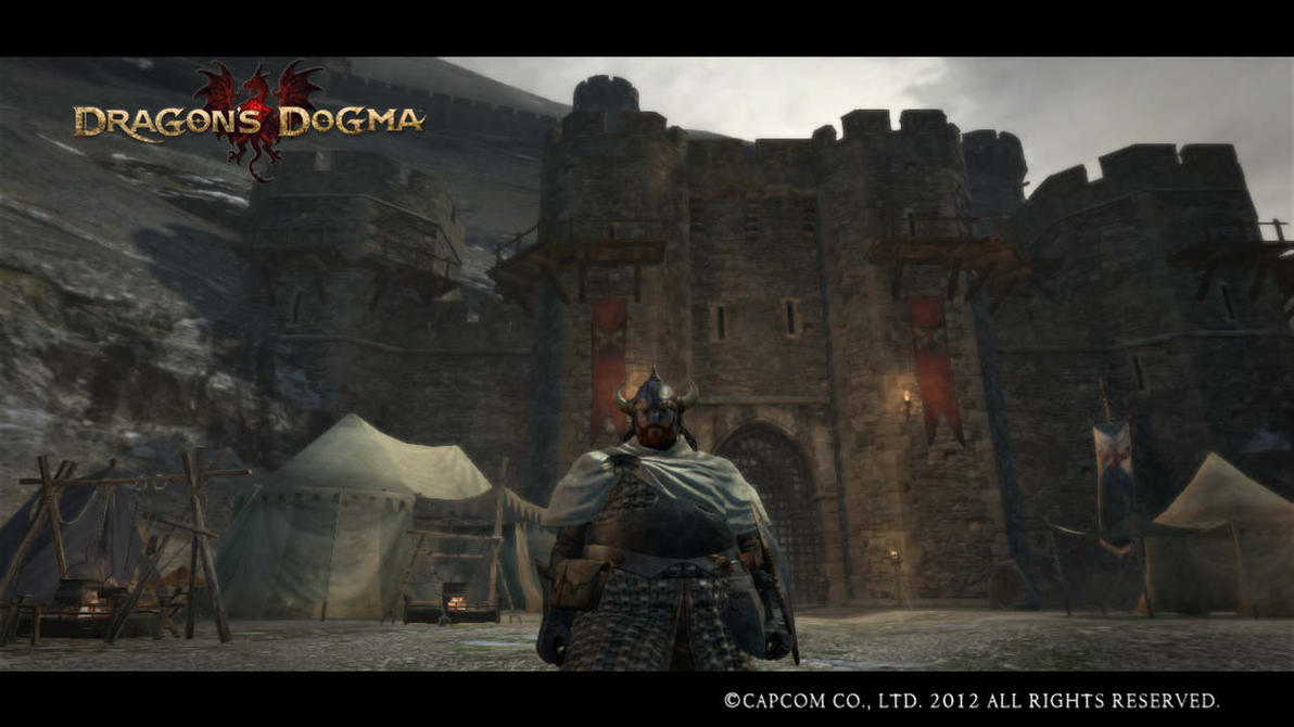 Dragon's Dogma, The Great Wall Fort of Gransys by GeneralDurandal