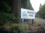 Burfoot Park Sign