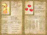 Applejack Character Sheet