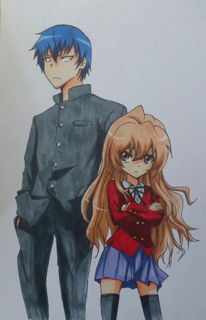 Ryuuji and Taiga by MargaHeartfilia