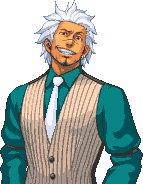 Godot unmasked confident by Kaito-Hatake