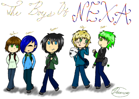The Boys Of Nexa (Finished) by Desarra