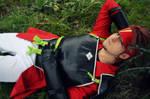 Rest under the tree - Klein Cosplay