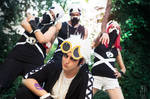 Welcome to Alola, kid - Guzma cosplay by Hayato-X-Flame