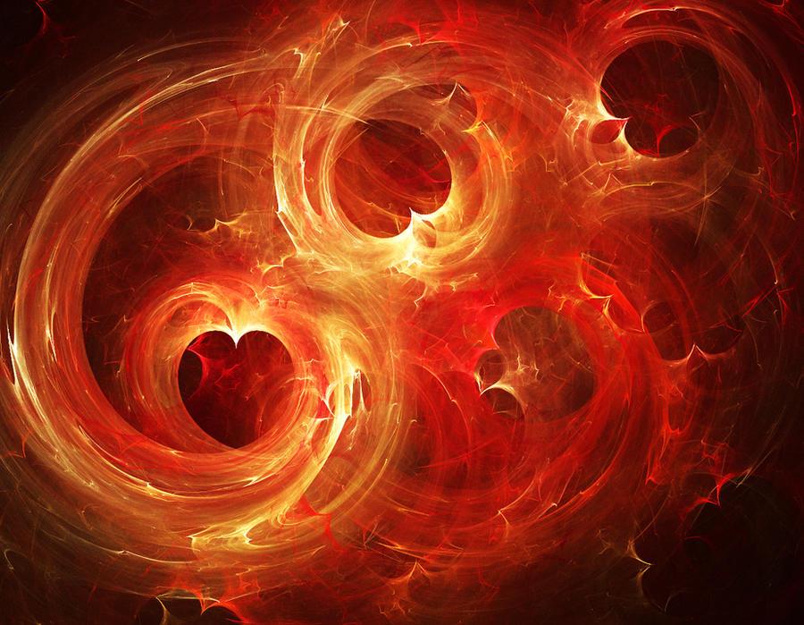 Heart Fractal by ekamanganese