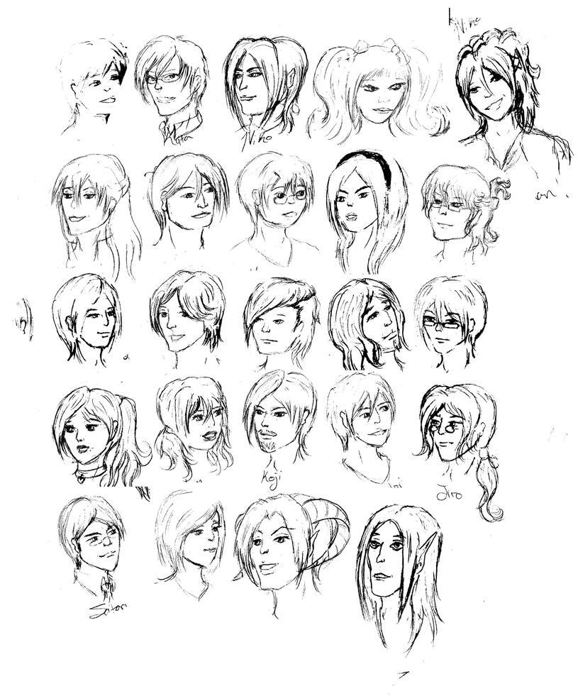 Headshots by vampiricpaladin756