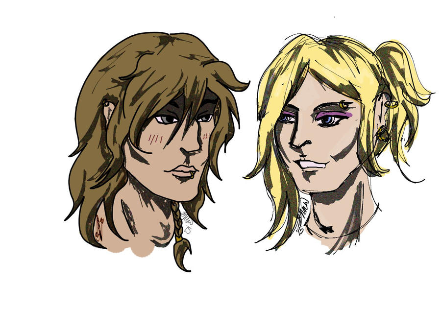 Lukaas and Neirin by vampiricpaladin756