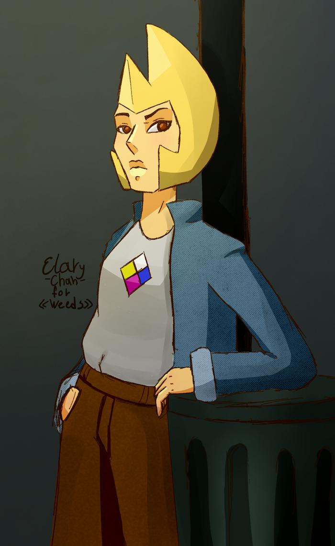 Yellow diamond by Elary-Chan