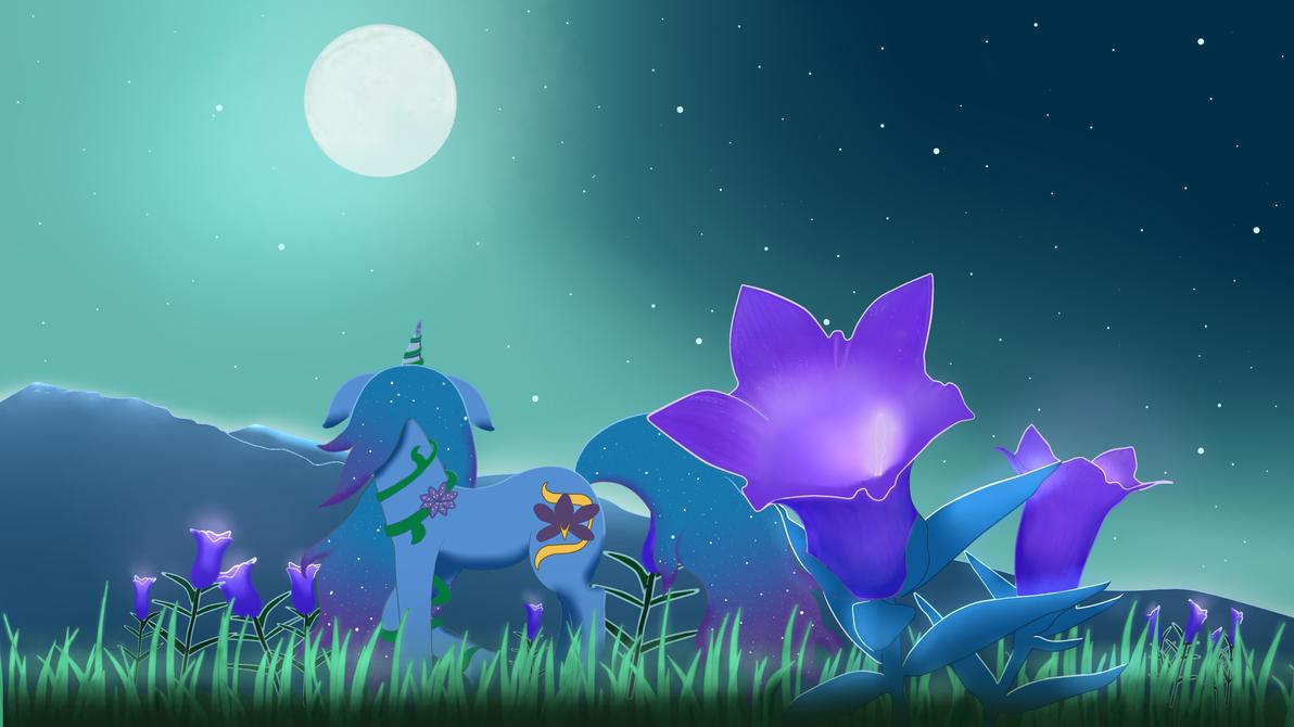Saffron Scent Midnight Scene [Contest Entry] by idrawspony