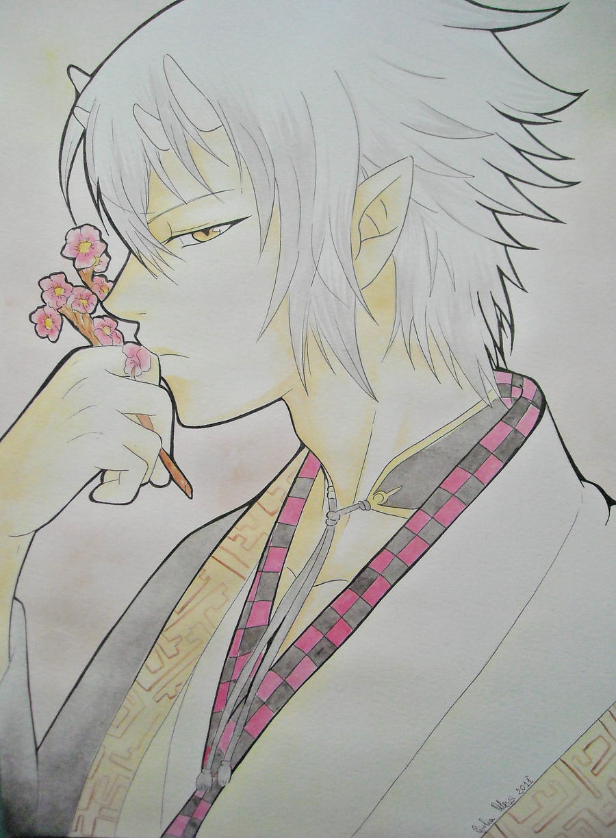 Chikage Kazama by giulystar-chan